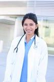 Infermiera medica indiana della donna Fotografie Stock Libere da Diritti