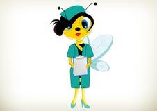 Infermiere Bee Immagini Stock Libere da Diritti