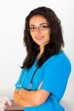 Infermiere medico Portrait immagini stock libere da diritti