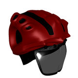 Infernal Composite Helmet Royalty Free Stock Images