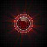 Infernal eye: Stock Image