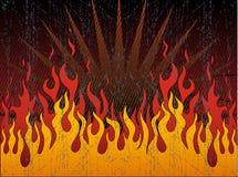 Infernal fire Stock Photography