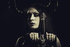 Infernal warrior Stock Photography