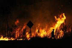 Inferno Fotografia Stock Libera da Diritti