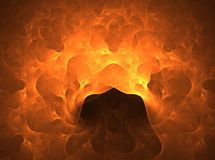 Inferno Foto de Stock Royalty Free
