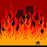 inferno vector illustratie