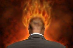 Inferno immagine stock
