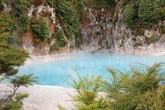 Inferno Crater Lake Stock Photo