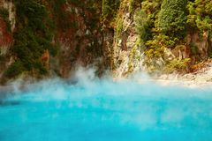 Inferno Crater, New Zealand Royalty Free Stock Photo