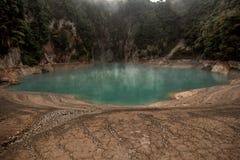 Inferno-Crater See in vulkanischem Tal Waimangu nahe Rotorua, Ne lizenzfreies stockbild