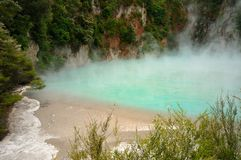 Inferno Crater, Waimangu Volcanic Valley. Rotorua, New Zealand royalty free stock image