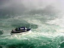 Inferno da água de queda Imagens de Stock Royalty Free