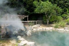 Inferno del mare a Beppu fotografia stock