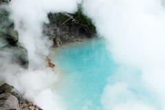 Inferno del mare a Beppu fotografia stock libera da diritti