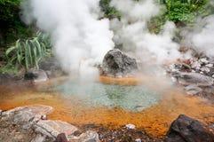 Inferno della montagna di Yama Jigoku a Beppu, Oita, Giappone Immagini Stock