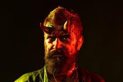 Inferno di Halloween, morte, malvagità, concetto di orrore fotografie stock libere da diritti