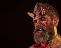 Inferno di Halloween, morte, malvagit?, concetto di orrore immagini stock libere da diritti