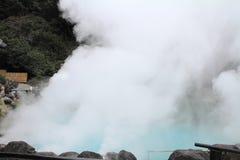 Inferno di jigoku di Umi a Beppu, Oita fotografie stock libere da diritti