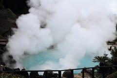 Inferno di jigoku di Umi a Beppu, Oita immagine stock libera da diritti