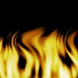 Inferno do incêndio Fotografia de Stock Royalty Free
