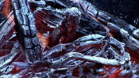 Inferno-Feuer stock footage