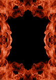Inferno frame. Inferno styled frame from flame royalty free illustration