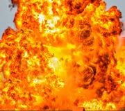 Infernobrandbakgrund Royaltyfri Foto