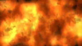 Infernobrandbakgrund royaltyfri illustrationer