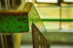 Inferriata e scale Fotografia Stock Libera da Diritti