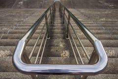 Inferriata e scale Fotografie Stock Libere da Diritti