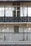 Inferriate Londra del ferro fotografie stock libere da diritti