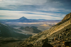 Infertile wilderness in Bolivia Stock Images