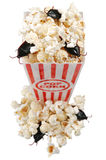 Infested popcorn Royalty Free Stock Image