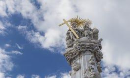 Infestez la colonne, érigée en l'honneur de la délivrance de la peste en Th Images libres de droits