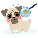 Infezione del parassita del cane royalty illustrazione gratis
