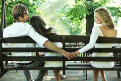 Infidélité matrimoniale Photos libres de droits