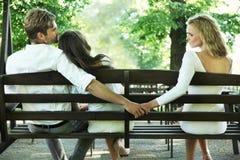 Infidelidad marital Fotos de archivo libres de regalías