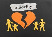 Infidelity family Stock Image