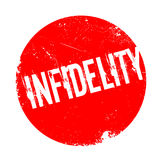 Infidelity rubber stamp Stock Image