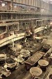 Infierno industrial Imagen de archivo libre de regalías