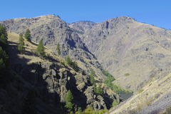 Infiernos Cayon de WestWall Imagen de archivo