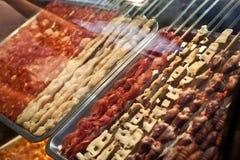 Infilza la carne Immagine Stock Libera da Diritti