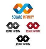 Infini carré Images stock