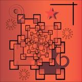 Infinidade vermelha Imagem de Stock Royalty Free