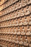 Infinite Buddhas Royalty Free Stock Images