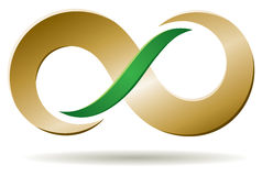 Infinite Business Logo Royalty Free Stock Photography