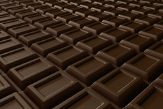 Infinite chocolate Royalty Free Stock Photo