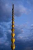 Infinite column. Brancusi's Infinite column in Romania Stock Image