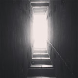 Infinite corridor stock photos