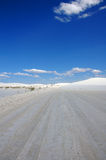 Infinite Desert Road Royalty Free Stock Image